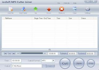 IovSoft Mp3 Cutter Joiner (cara mudah memotong dan menggabung mp3 dengan cepat)