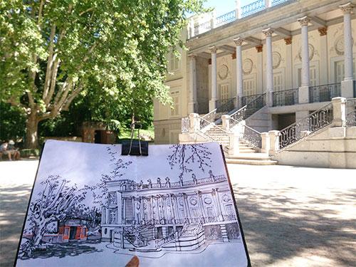 Aidibus el capricho for Jardin historico el capricho paseo alameda de osuna 25