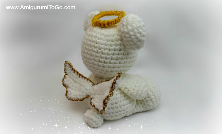 Lovely Angel crochet pattern - Amigurumi Today | 453x751