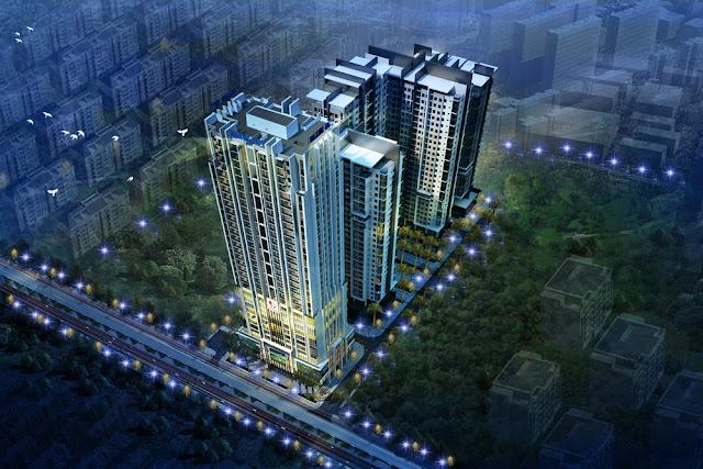 Phối cảnh chung cư Gold Tower Nguyễn Trãi