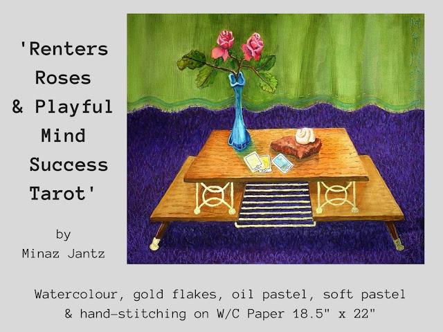 'Renter's Roses & Playful Mind Success Tarot' by Minaz Jantz