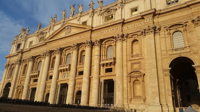 St. Peter's Basilica in the morning light