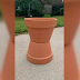She Glues 2 Old Flower Pots Together. But What She Puts Inside? GENIUS!