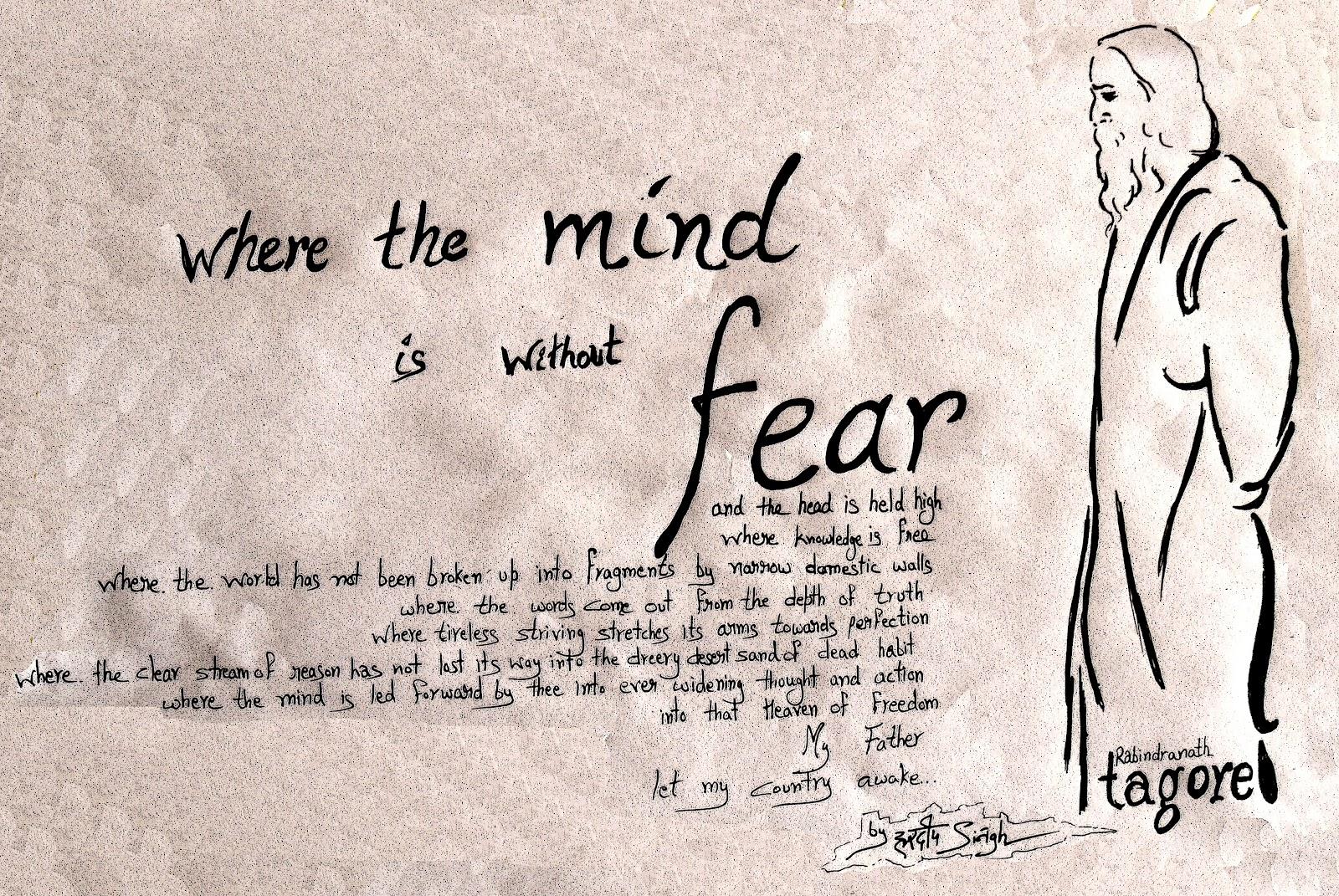 rabindranath tagore a versatile genius legends treasures rabindranath tagore a mind out fear