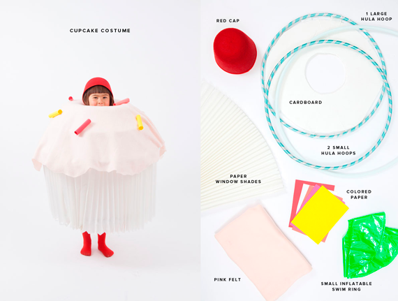 disfraces halloween: cupcake