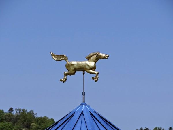 Nutfield genealogy weathervane wednesday a merry go for Where can i go horseback riding near me