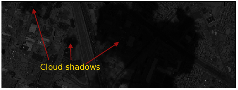 Classification of the Hyper-Spectral and LiDAR Imagery using R (mostly). Part 3: Shadow Removal