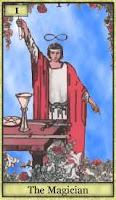 Tarot Büyücü Kartı