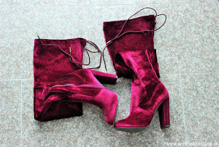 Review: Justfab Stiefel - kunterbunt in den Winter - Philipa Heeled Boot - www.annitschkablog.de