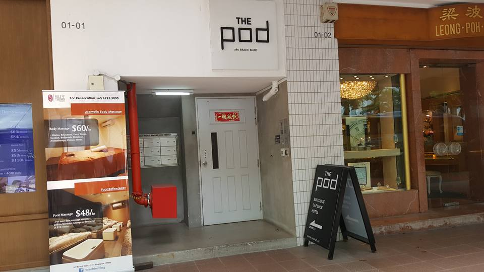 Review The Pod Capsule Hotel Singapore Mytummynotes