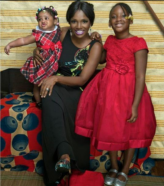 2face idibia daughters