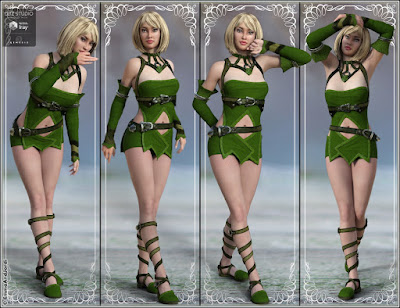 Legend Mix And Match Poses for Genesis 3 Female