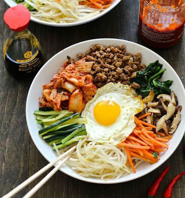 """7 recetas fáciles para cocinar la comida de moda: """"El Bibimbap"""""""