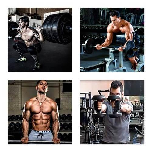 Rutina de ejercicios para ganar masa muscular, fuerza y resistencia (hombres)
