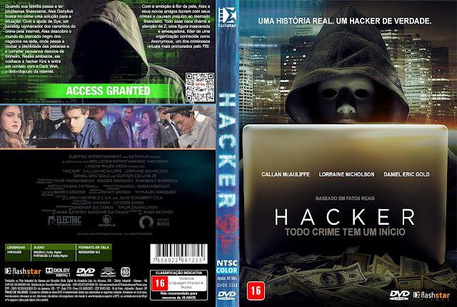 Capa DVD Hacker [Custom]