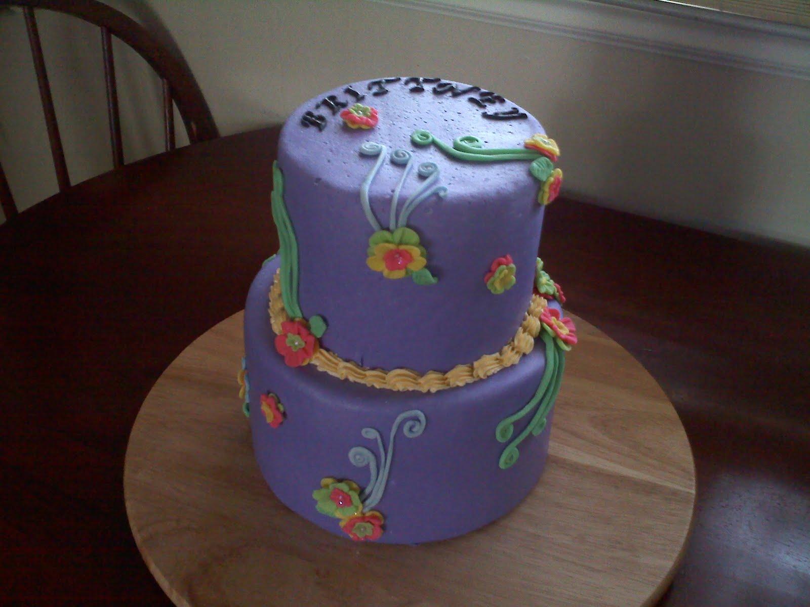 Pinky Promise Cakes Brittneys Birthday Cake