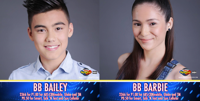 Bailey, Barbie are nominated housemates