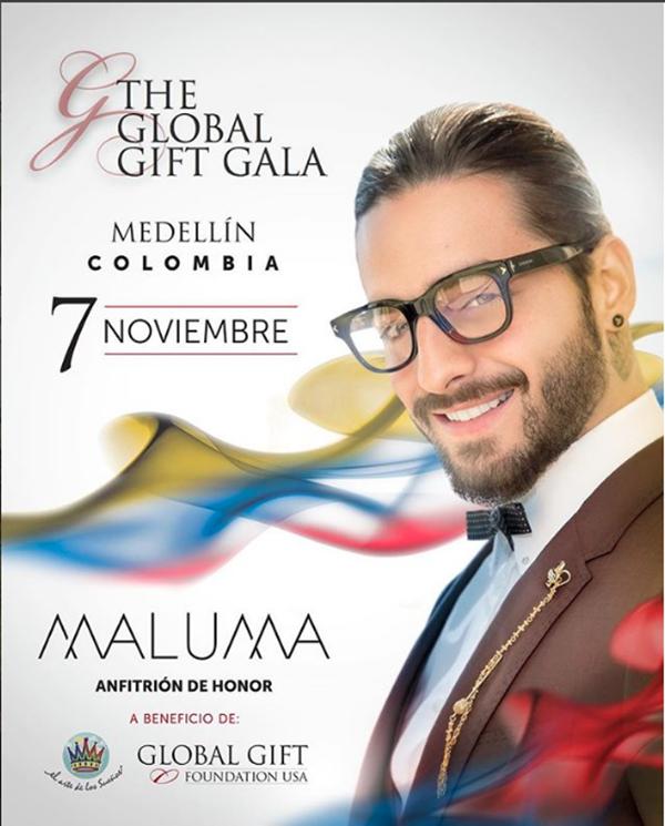 Fundación-Maluma-Cumple-dos-años-anfitrión-gala-benéfica-Medellín