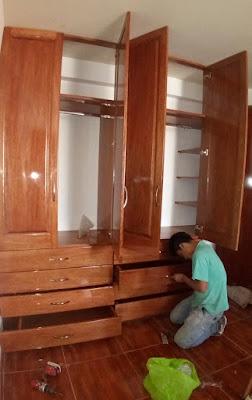 Closet para dormitorio en Surco
