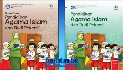 Buku Pendidikan Agama Islam Kelas SD 3 Kurikulum 2013 Revisi 2018 Lengkap Buku Guru dan Buku SIswa