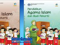 Buku Pendidikan Agama Islam Kelas 3 SD  Kurikulum 2013 Revisi 2018 Lengkap Buku Guru dan Buku SIswa