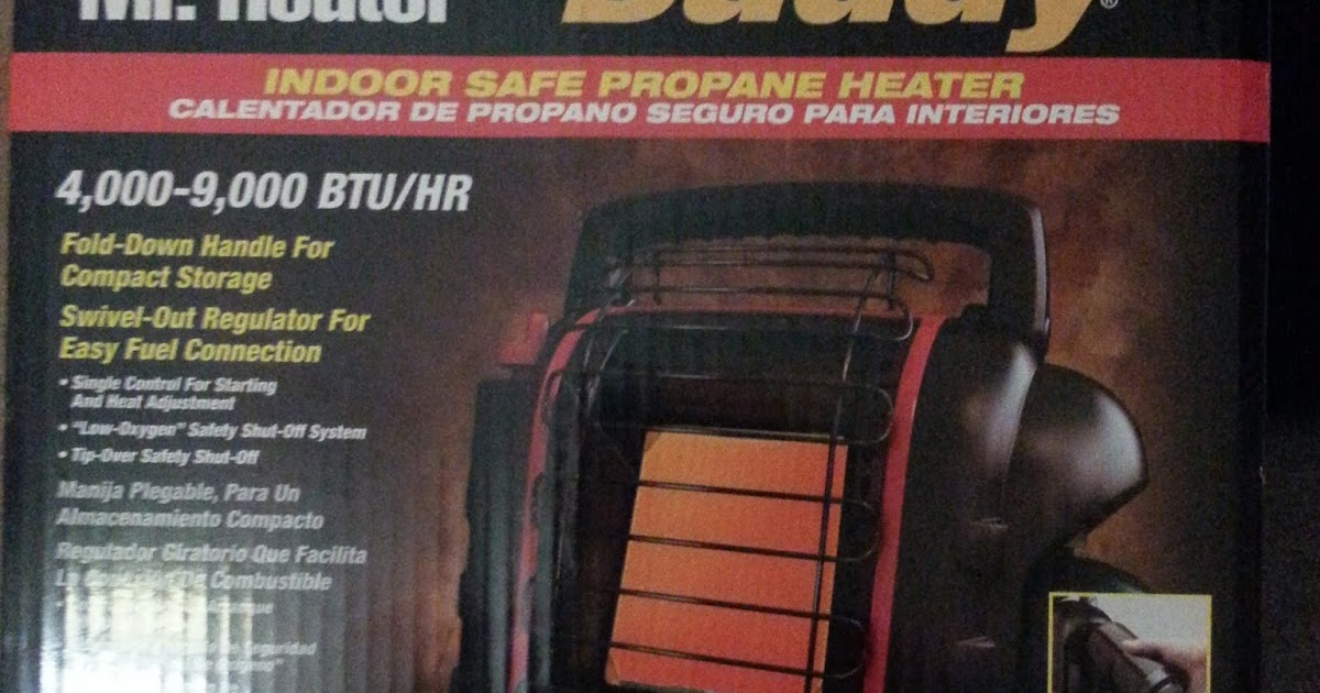 Vandwelling Parttime Indoor Safe Propane Heater