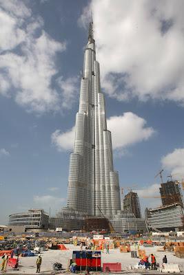 All World Visits: Burj Dubai Skyscraper Latest Pictures