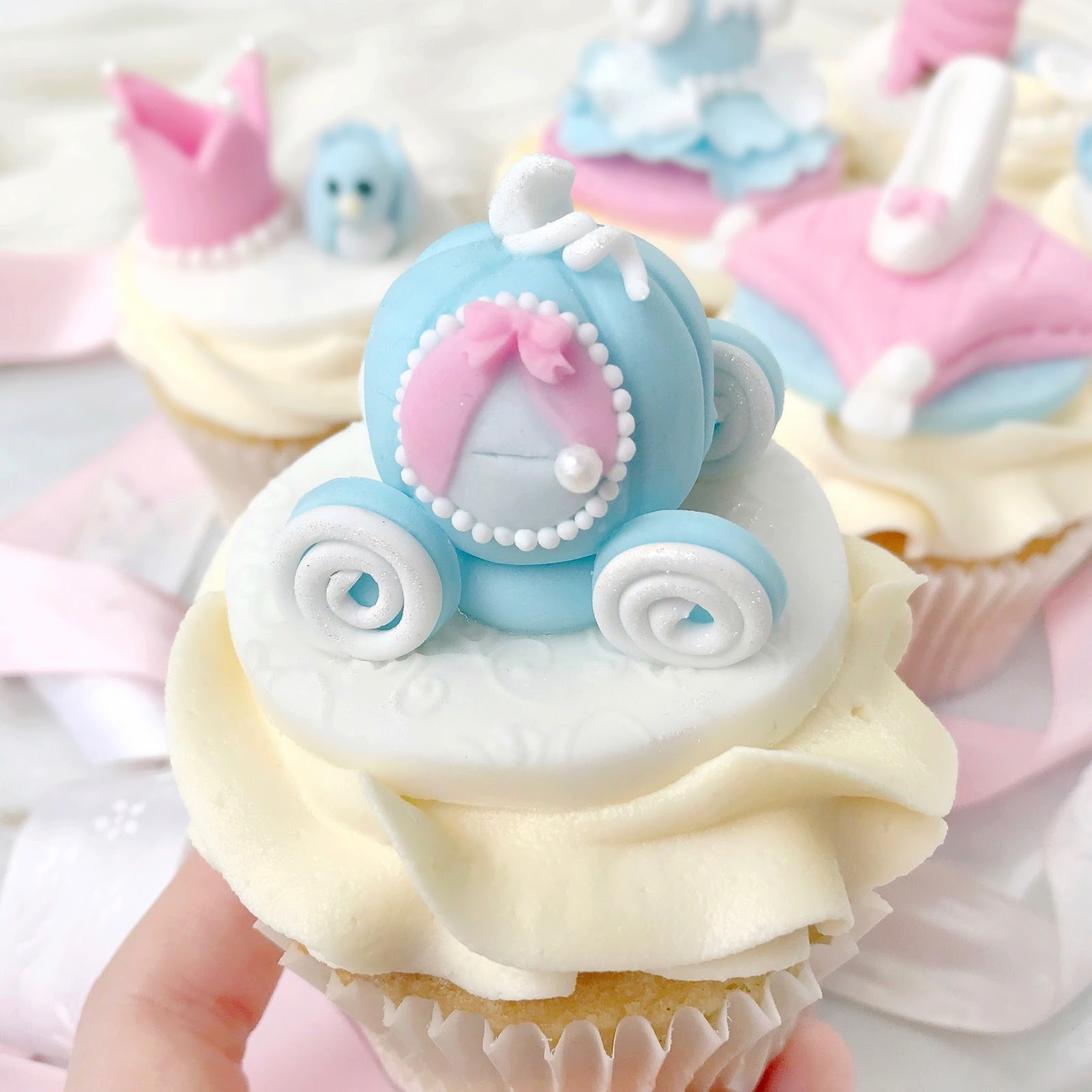 Cinderella Princess Cupcakes | Love, Catherine