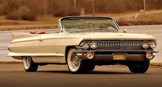 1961 Cadillac DeVille Convertible Front Right
