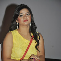 Preethi das hot photos in short dress at press meet event