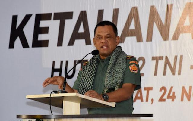 Tidak Takut Diancam, Jenderal Gatot: Karena Ada Allah yang Mem-back up Saya