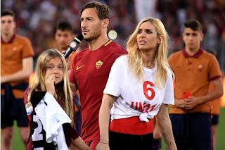 Francesco Totti And His Family
