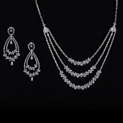 PC Jewellers Bridal Diamond Jewellry Set