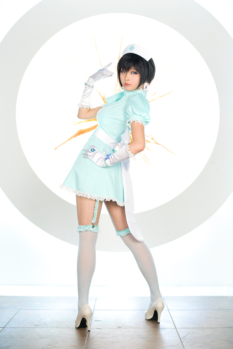 Macross Frontier Nurse Cosplay by Korean - Blog - Cosplay