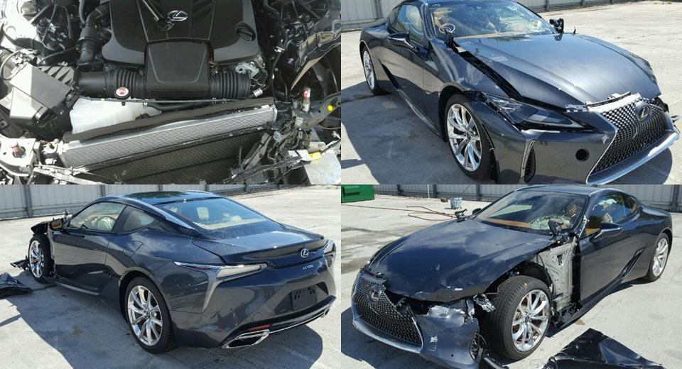 Someone Has Already Crashed A Lexus Lc 500
