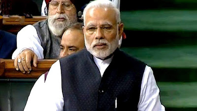 modiji and other members image in parliyament