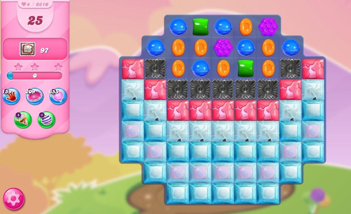 Candy Crush Saga level 6810
