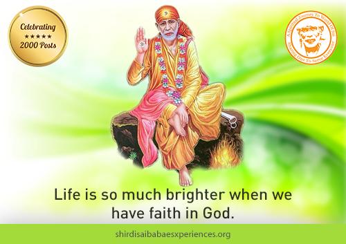 Sai Baba Answers | Shirdi Sai Baba Grace Blessings | Shirdi Sai Baba Miracles Leela | Sai Baba's Help | Real Experiences of Shirdi Sai Baba | Sai Baba Quotes | Sai Baba Pictures | http://www.shirdisaibabaexperiences.org