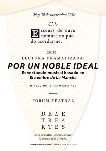 """""""Por un noble ideal"""""""