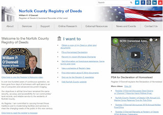Norfolk County Registry of Deeds