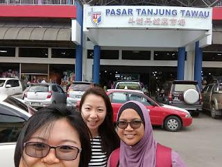Jalan-jalan cari makan, Pengedar Sah Shaklee Kawasan anda, Program bulanan, Shaklee Detox, Shaklee Tawau, Pasar Tanjung Tawau