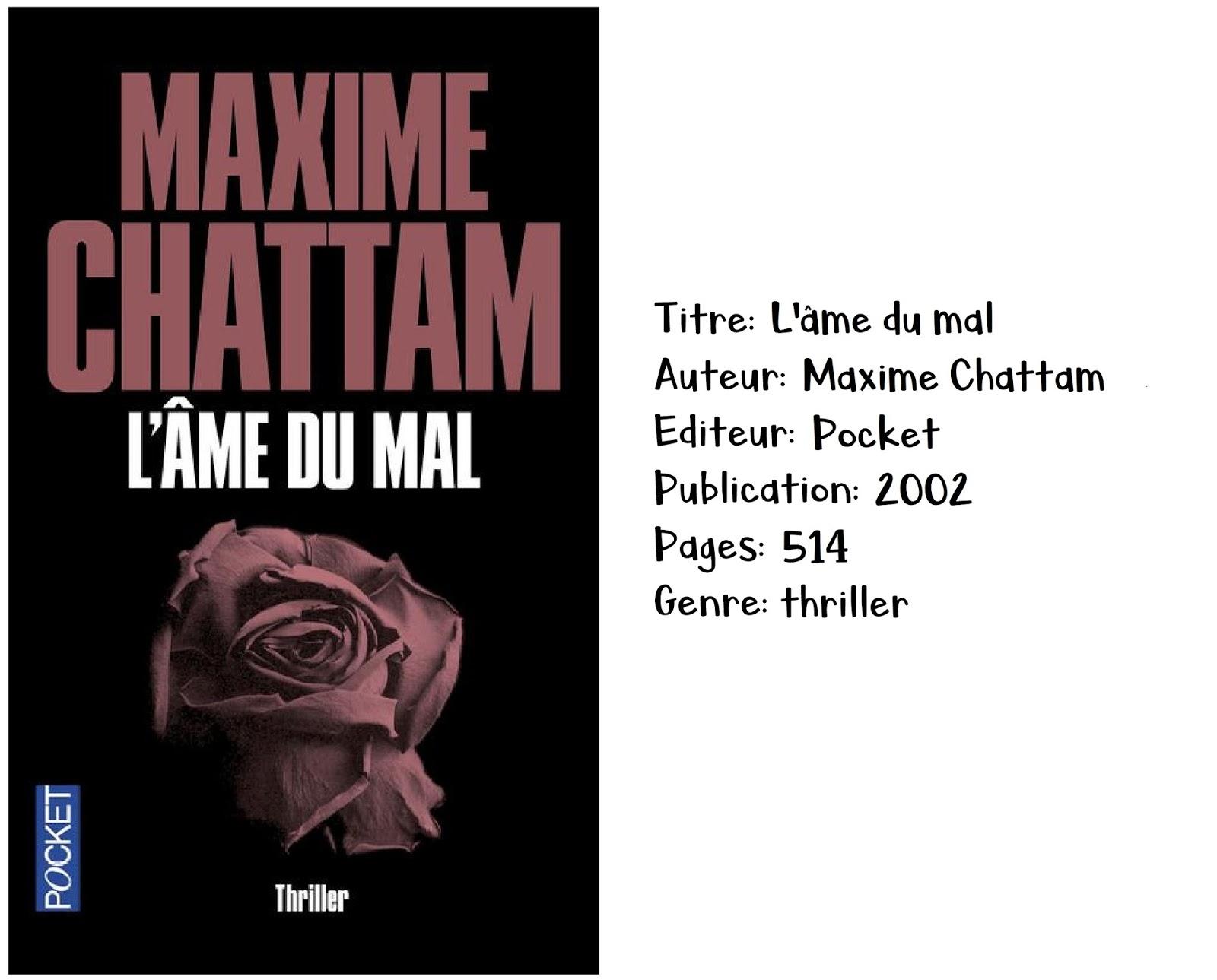 L'âme du mal de Maxime Chattam