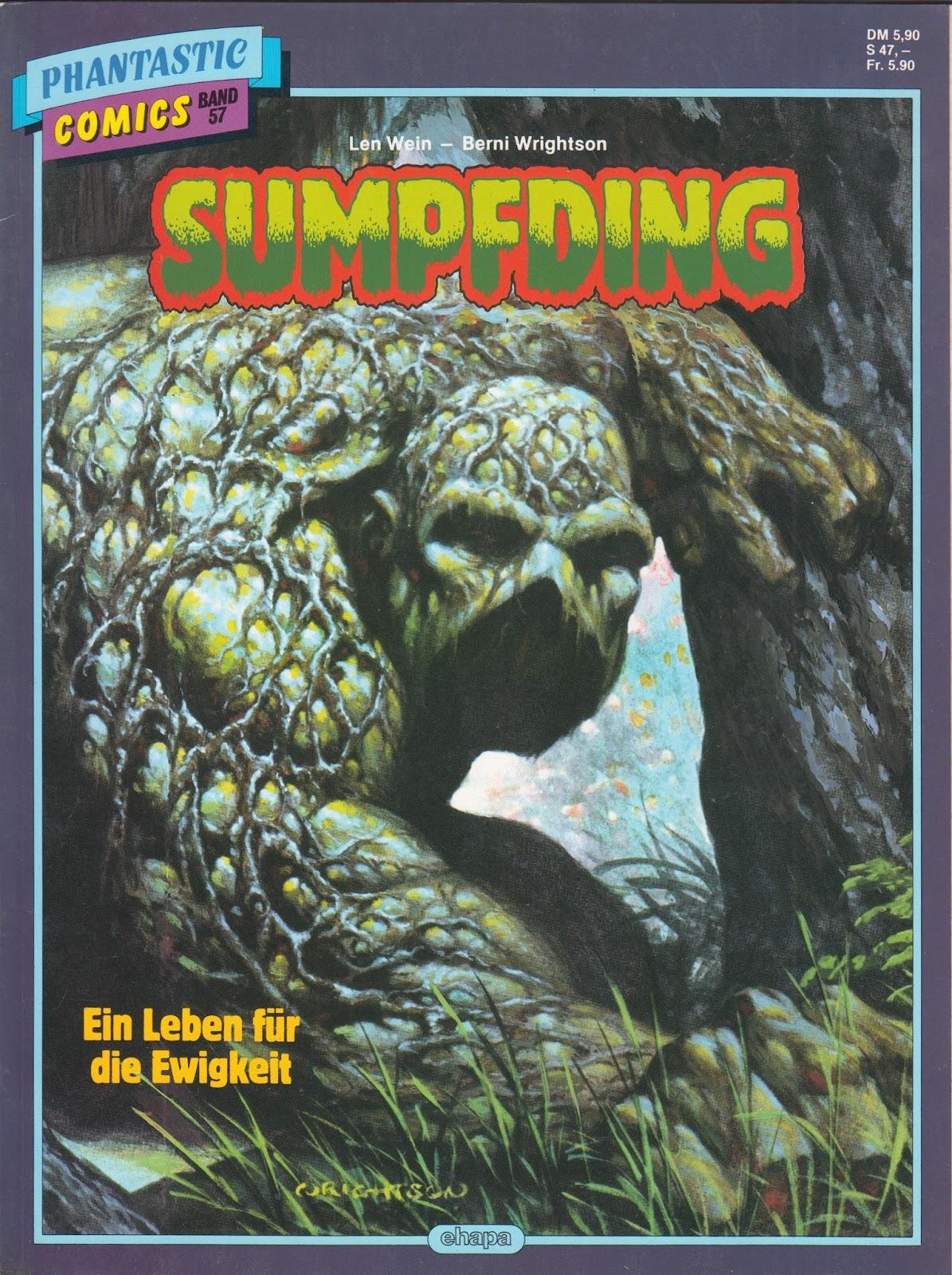 Fantasy Ink Swamp Thing Around the World