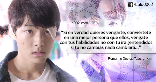 romantic doctor teacher kim frases de doramas