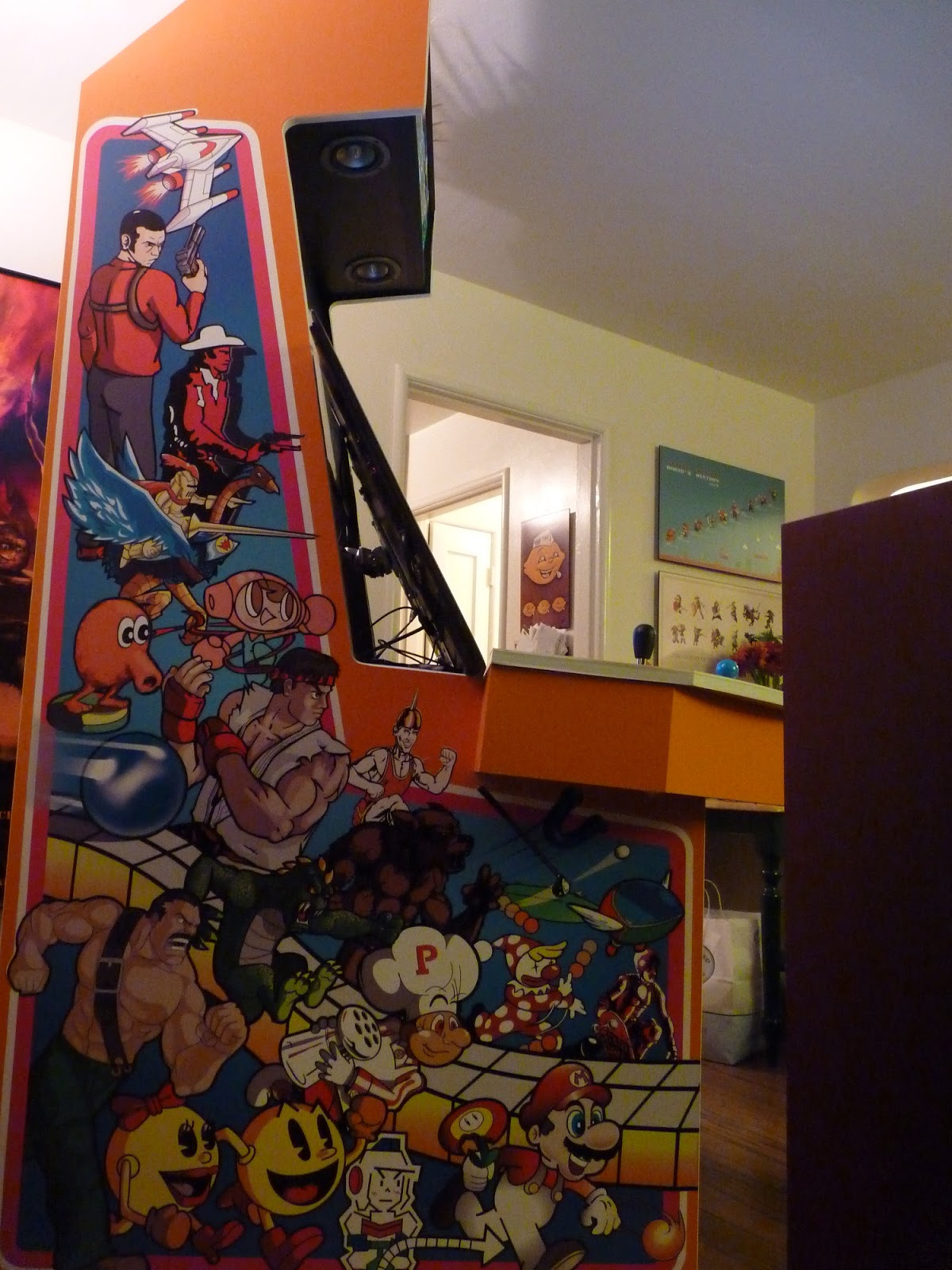 The Artcade Arcade Art Antagonist Vs Protagonist