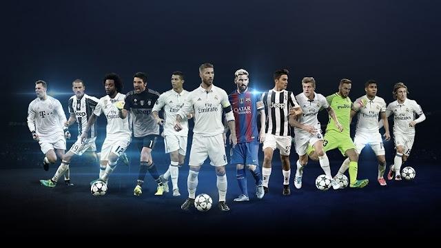 Đề cử giải Cầu thủ xuất sắc nhất Champions League