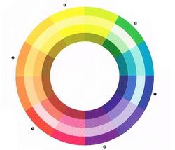 A színek- színelmélet a színkör segítségével - DettyDesign Lakberendezés 4e676578f6