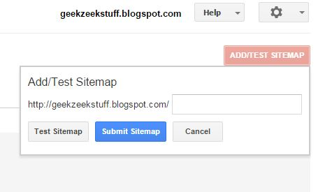 Adding Sitemap to Google Search Console