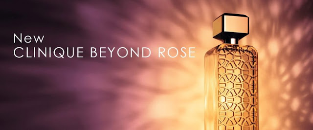 Clinique Beyond Rose - reklama perfum