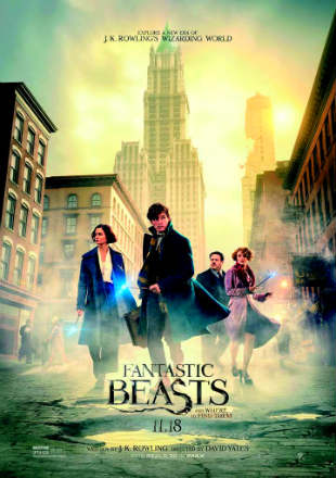 Fantastic Beasts and Where to Find Them 2016 BRRip 720p Dual Audio Hindi Bluray